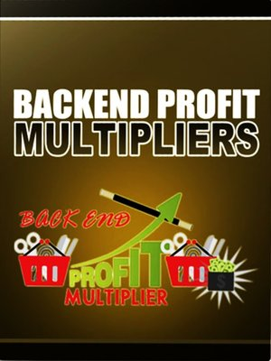 cover image of Backend Profit Multipliers